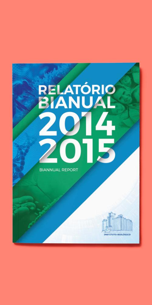Instituto Biológico – Relatório Bianual