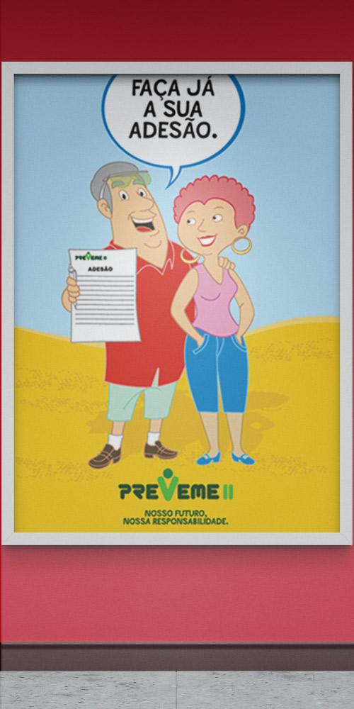 3M/Preveme – Campanha Previdenciária
