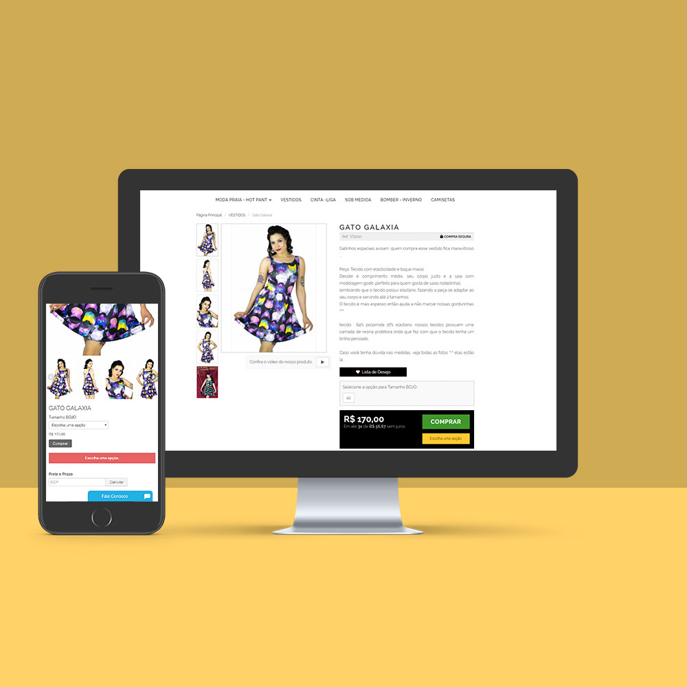Styling Rock – Desenvolvimento E-commerce